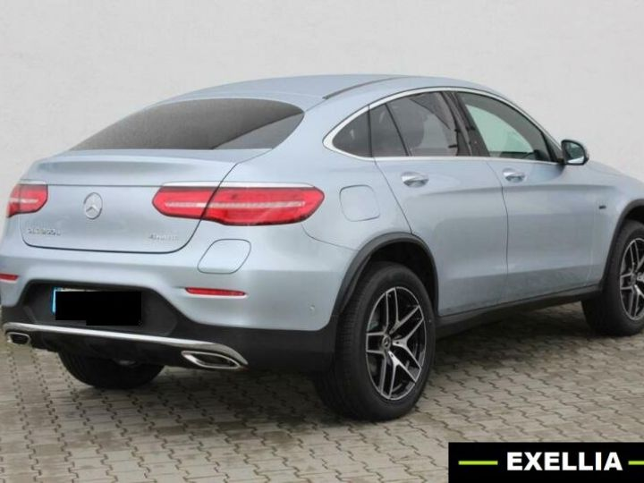 Mercedes GLC COUPE 350e 4 MATIC FASCINATION  GRIS Occasion - 2