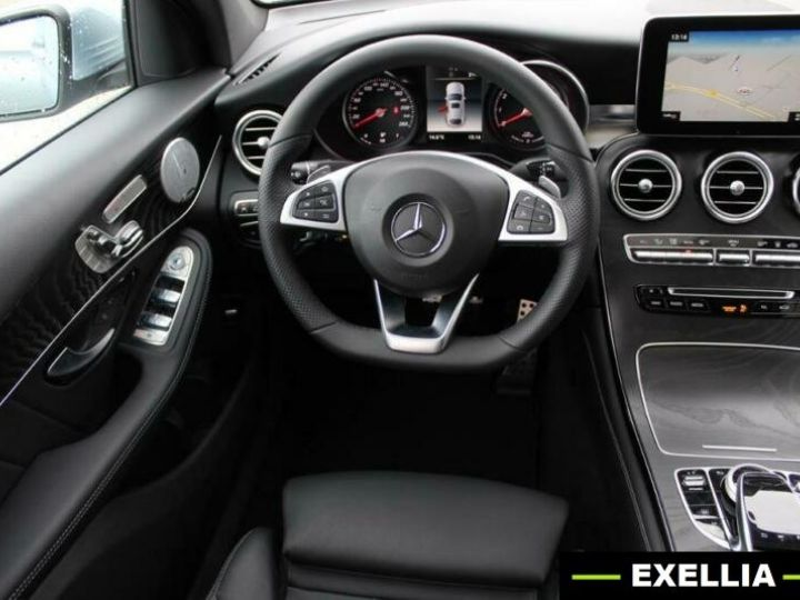 Mercedes GLC COUPE 350e 4 MATIC FASCINATION  GRIS Occasion - 7