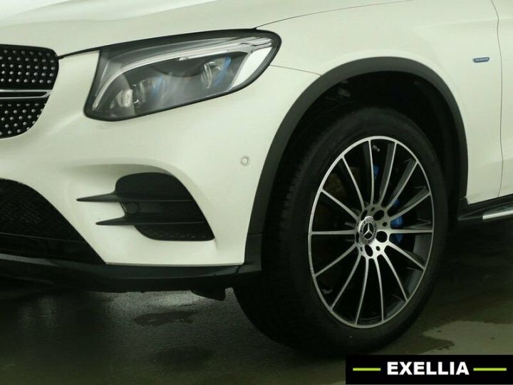 Mercedes GLC COUPE 350e 4 MATIC FASCINATION  BLANC Occasion - 1