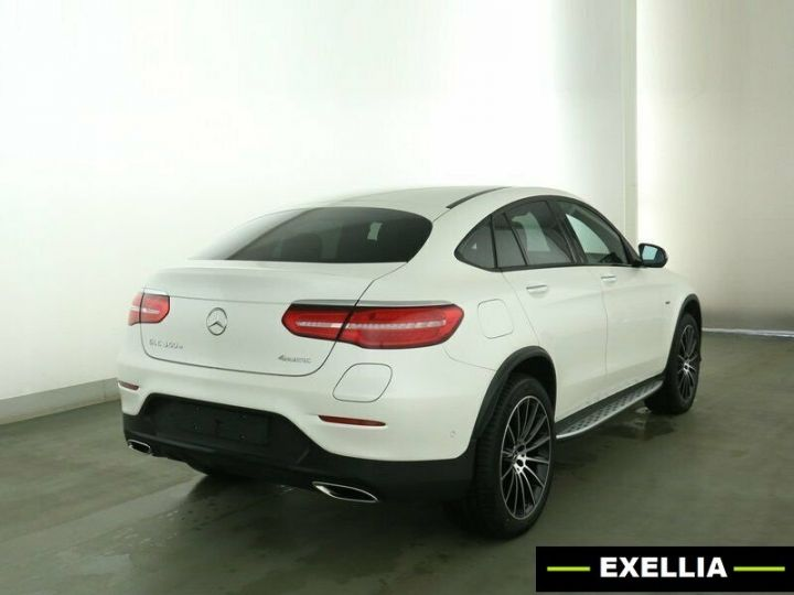 Mercedes GLC COUPE 350e 4 MATIC FASCINATION  BLANC Occasion - 4