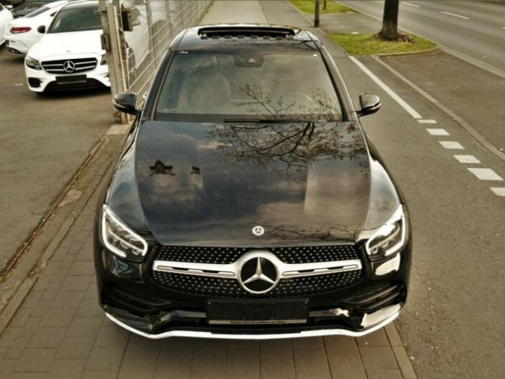 Mercedes GLC Coupé Mercedes-Benz GLC 300 4M AMG HYBRIDE 14cv (258ch) Gris - 9