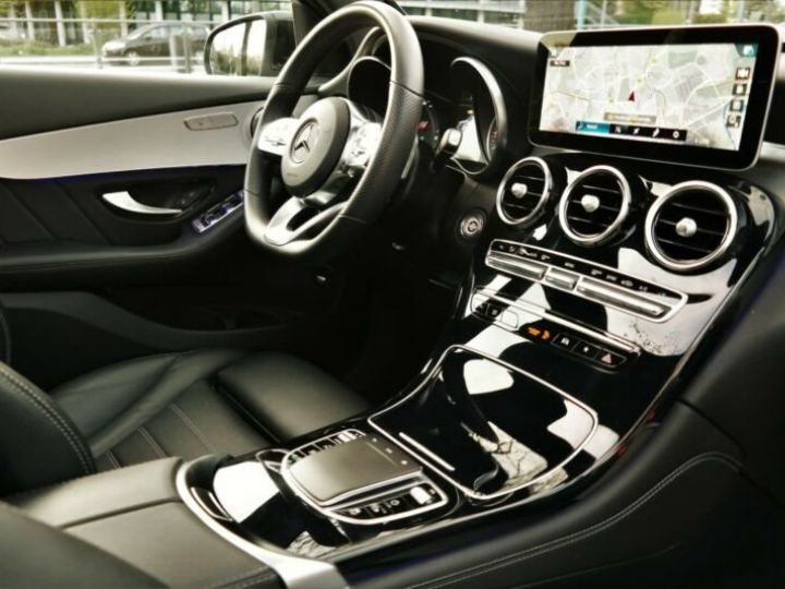 Mercedes GLC Coupé Mercedes-Benz GLC 300 4M AMG HYBRIDE 14cv (258ch) Gris - 10