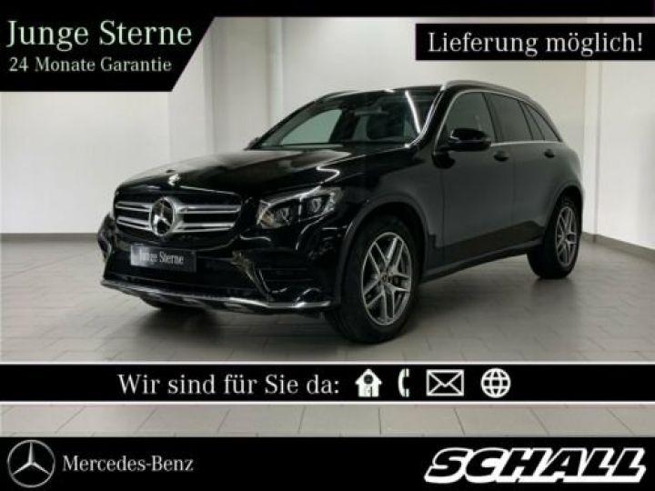 Mercedes GLC Mercedes-Benz GLC 220 d 4M AMG TOIT PANO PACK LED CAMERA GARANTIE 12 MOIS    noire - 1