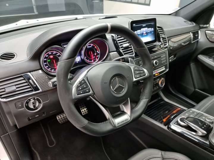 Mercedes GLE 63S AMG 5.5l V8 585ch 4MATIC ATTELAGE ELEC Blanc Nacré - 6