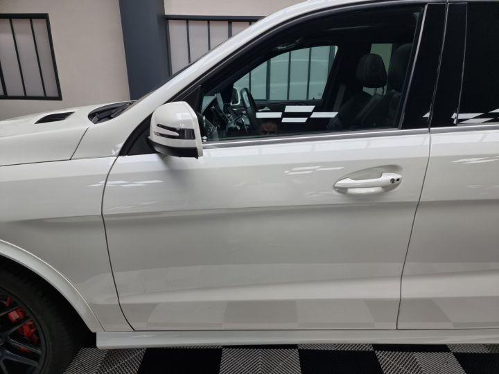 Mercedes GLE 63S AMG 5.5l V8 585ch 4MATIC ATTELAGE ELEC Blanc Nacré - 17