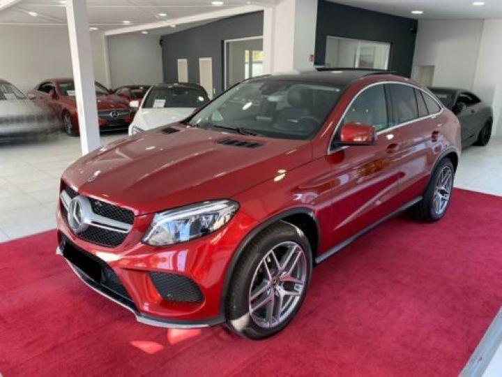Mercedes GLE Coupé 350 D 258CH 4MATIC 9G-TRONIC ROUGE Occasion - 1