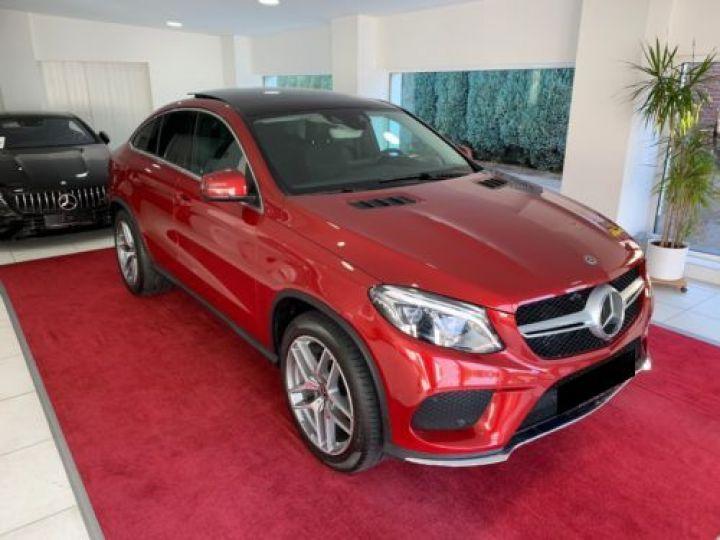 Mercedes GLE Coupé 350 D 258CH 4MATIC 9G-TRONIC ROUGE Occasion - 3