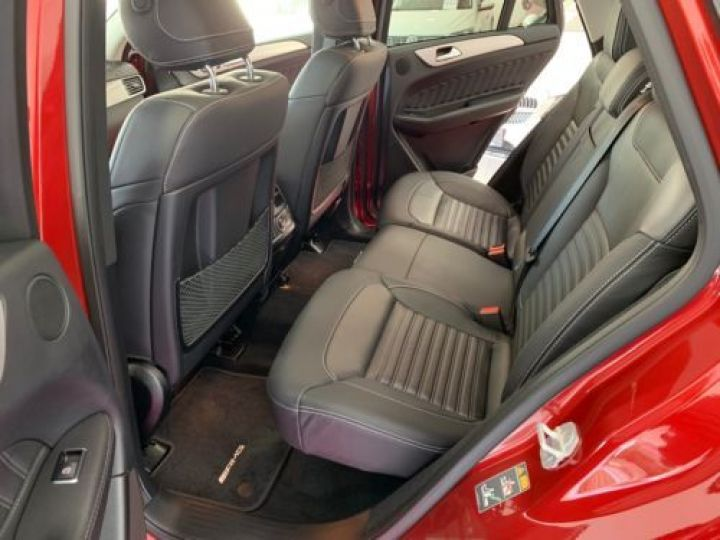 Mercedes GLE Coupé 350 D 258CH 4MATIC 9G-TRONIC ROUGE Occasion - 13