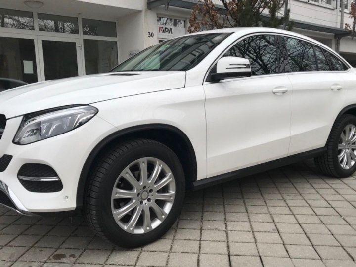Mercedes GLE Coupé 350 d 4Matic 10/2015 blanc POLARWEISS - 1