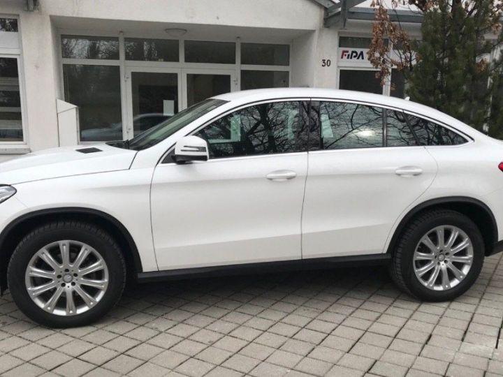Mercedes GLE Coupé 350 d 4Matic 10/2015 blanc POLARWEISS - 2