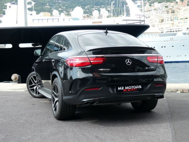 Mercedes GLE Coupé 43 AMG Noir Métal Vendu - 9