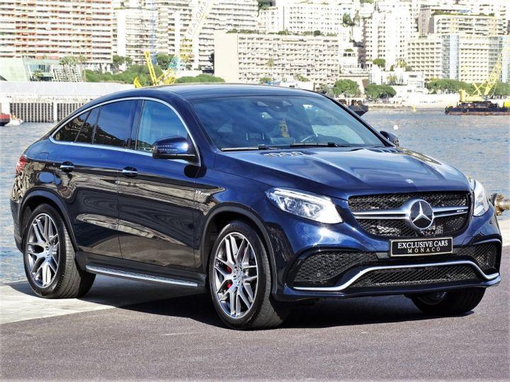 Mercedes GLE Coupé 63 AMG S 4-MATIC 585 CV Bleu métal - 2