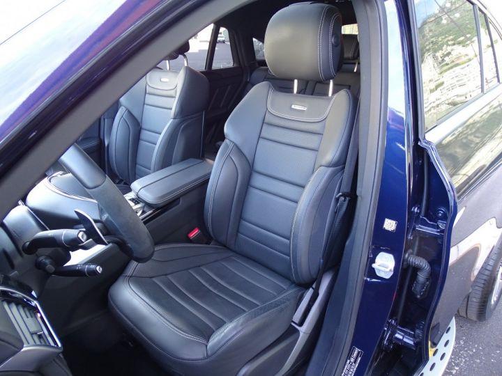 Mercedes GLE Coupé 63 AMG S 4-MATIC 585 CV Bleu métal - 7
