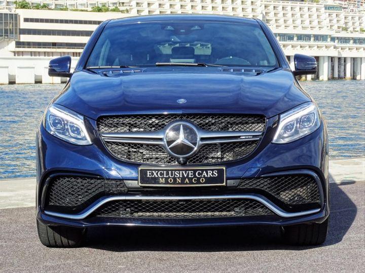 Mercedes GLE Coupé 63 AMG S 4-MATIC 585 CV Bleu métal - 11