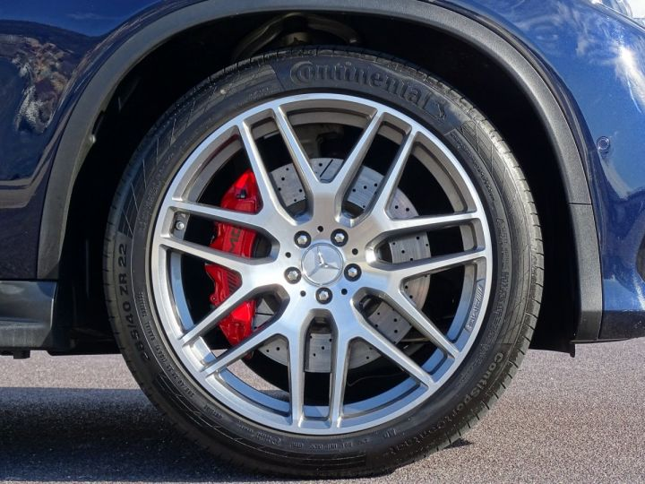 Mercedes GLE Coupé 63 AMG S 4-MATIC 585 CV Bleu métal - 15