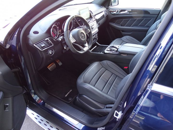 Mercedes GLE Coupé 63 AMG S 4-MATIC 585 CV Bleu métal - 16