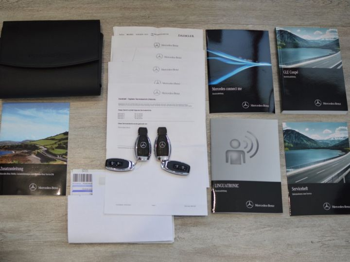 Mercedes GLE Coupé 63S AMG COUPE DCT 7G TRONIC 5.5l V8 585ch 4MATIC Blanc Nacre Designo - 21