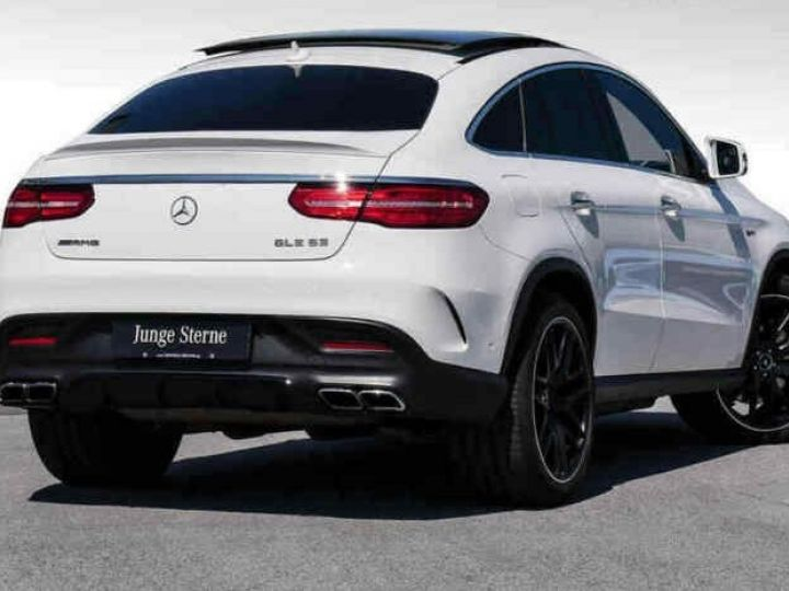 Mercedes GLE Coupé Coupe 63 AMG 557ch 4Matic 7G BLANC - 2