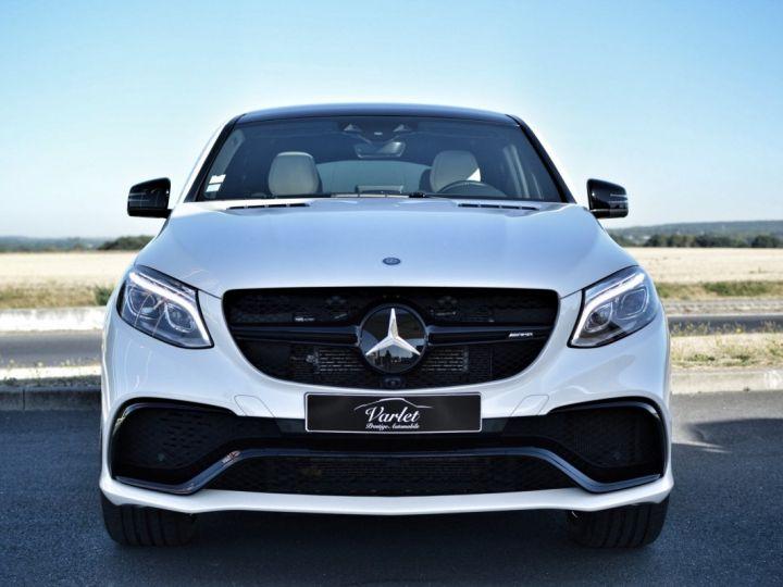 Mercedes GLE Coupé RARE MERCEDES GLE 63S AMG COUPE DCT 7G TRONIC 5.5l V8 585ch 4MATIC FULL ATTELAGE DESIGNO ECHAP. SPORT 1ERE MAIN BLANC NACRE DESIGNO - 2