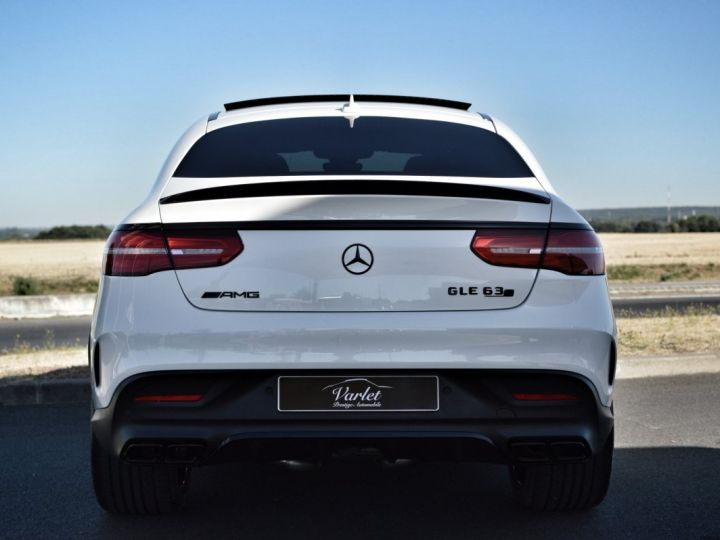 Mercedes GLE Coupé RARE MERCEDES GLE 63S AMG COUPE DCT 7G TRONIC 5.5l V8 585ch 4MATIC FULL ATTELAGE DESIGNO ECHAP. SPORT 1ERE MAIN BLANC NACRE DESIGNO - 5