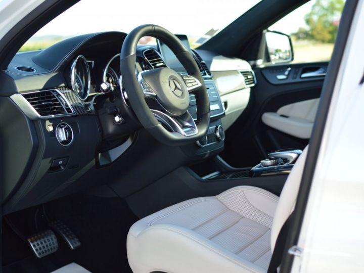 Mercedes GLE Coupé RARE MERCEDES GLE 63S AMG COUPE DCT 7G TRONIC 5.5l V8 585ch 4MATIC FULL ATTELAGE DESIGNO ECHAP. SPORT 1ERE MAIN BLANC NACRE DESIGNO - 7