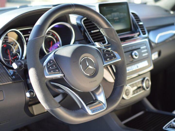 Mercedes GLE Coupé RARE MERCEDES GLE 63S AMG COUPE DCT 7G TRONIC 5.5l V8 585ch 4MATIC FULL ATTELAGE DESIGNO ECHAP. SPORT 1ERE MAIN BLANC NACRE DESIGNO - 17