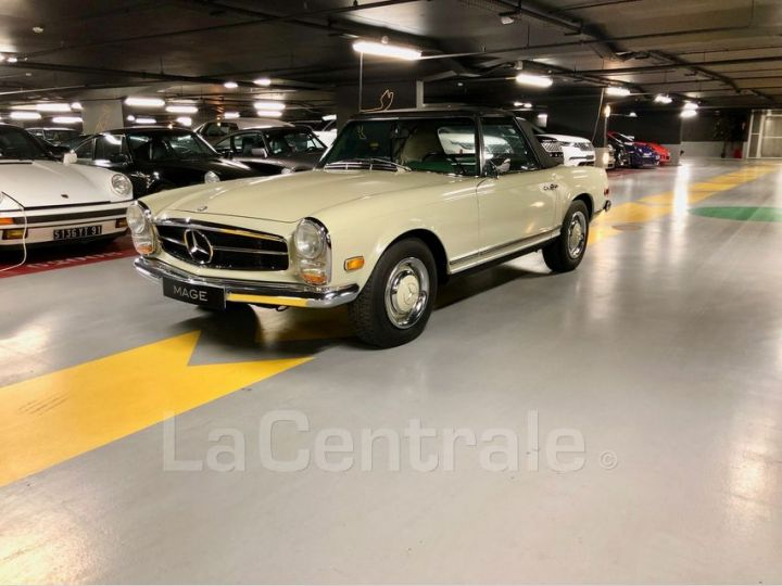 Mercedes SL 250 PAGODE Vert Verni Occasion - 1