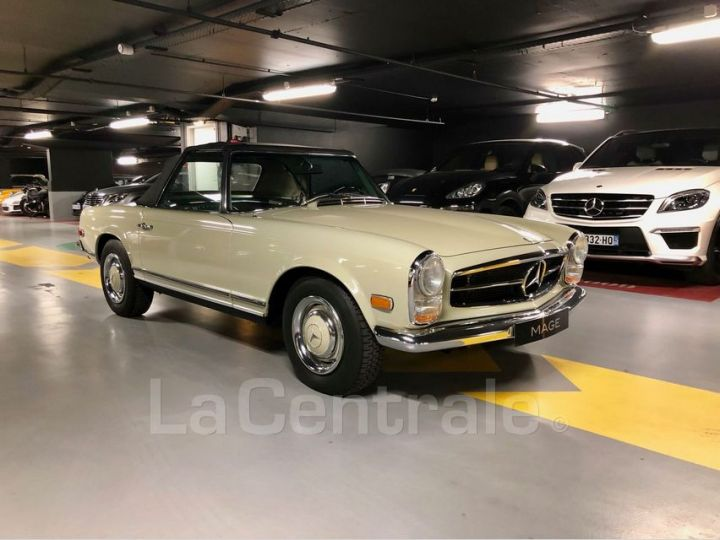 Mercedes SL 250 PAGODE Vert Verni Occasion - 2