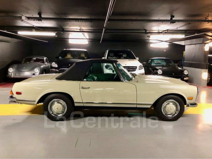 Mercedes SL 250 PAGODE Vert Verni Occasion - 3