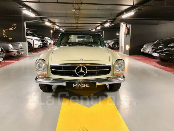 Mercedes SL 250 PAGODE Vert Verni Occasion - 4