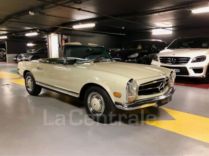 Mercedes SL 250 PAGODE Vert Verni Occasion - 10
