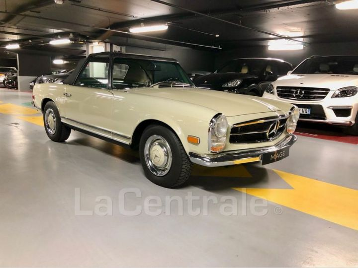 Mercedes SL 250 PAGODE Vert Verni Occasion - 11