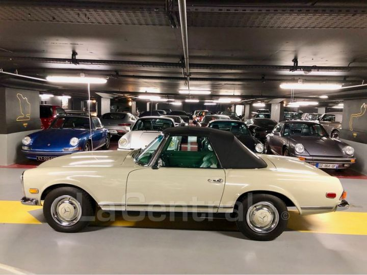 Mercedes SL 250 PAGODE Vert Verni Occasion - 13