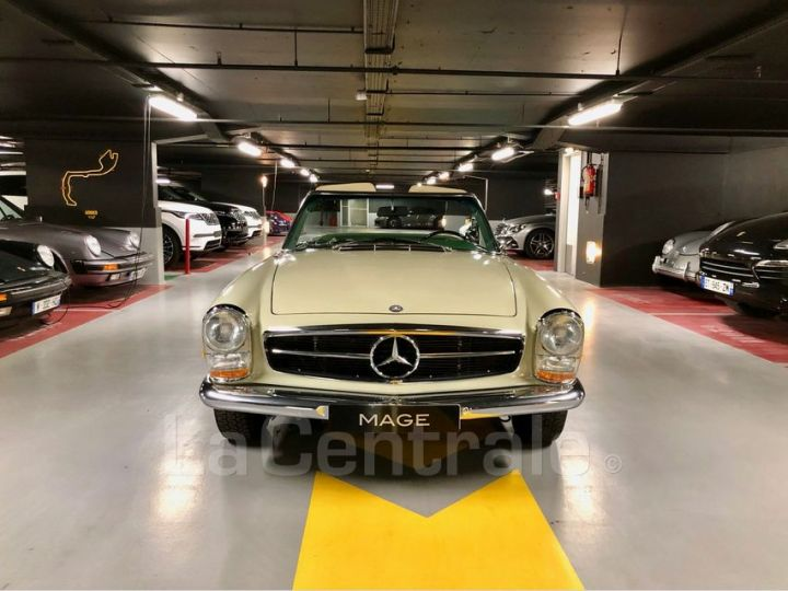 Mercedes SL 250 PAGODE Vert Verni Occasion - 15