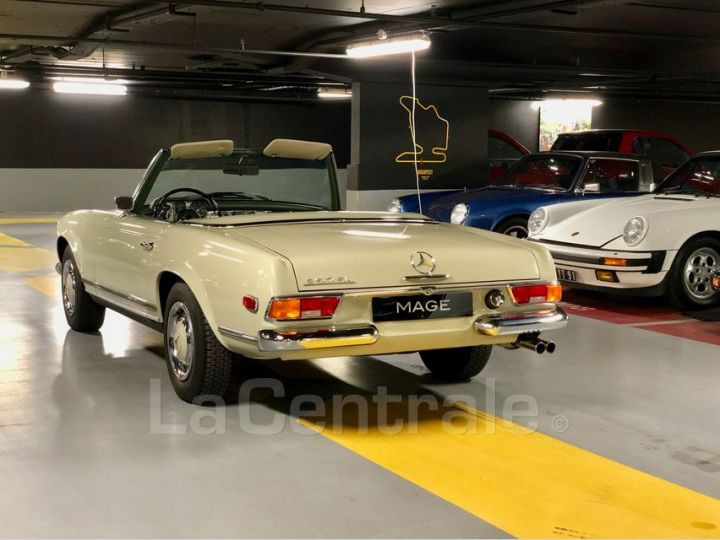 Mercedes SL 250 PAGODE Vert Verni Occasion - 16
