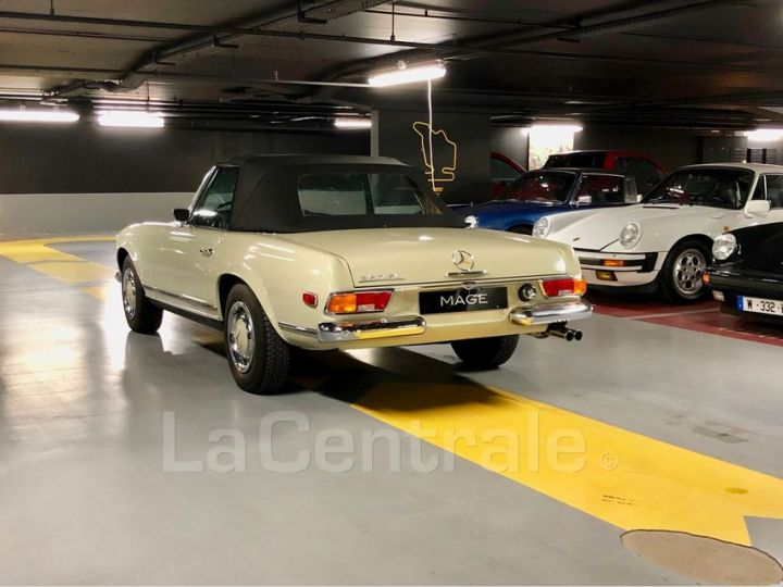 Mercedes SL 250 PAGODE Vert Verni Occasion - 19