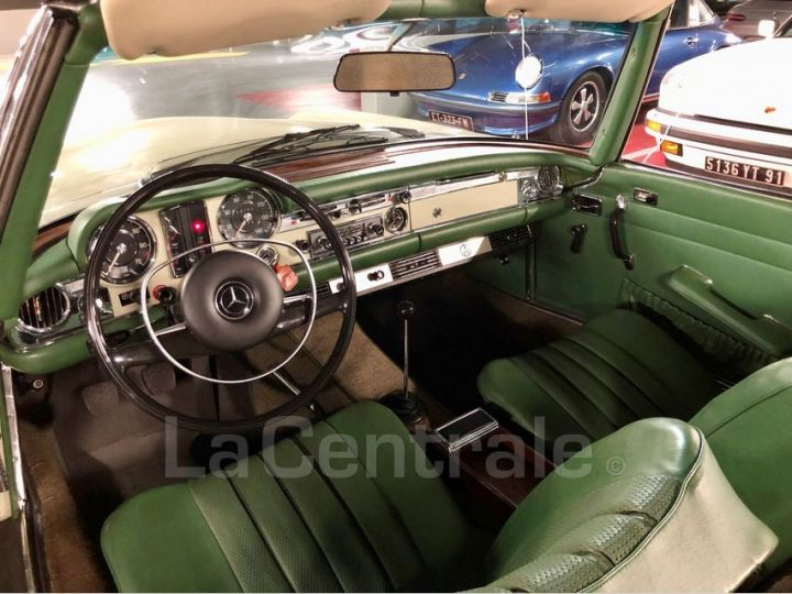 Mercedes SL 250 PAGODE Vert Verni Occasion - 24