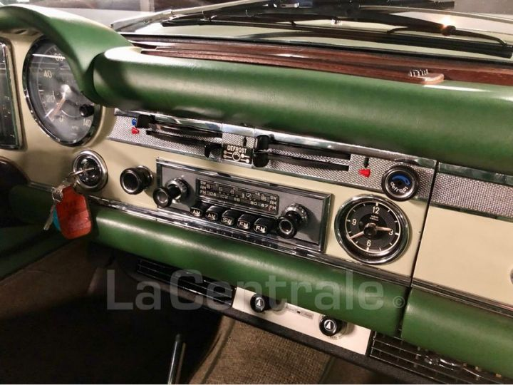 Mercedes SL 250 PAGODE Vert Verni Occasion - 27