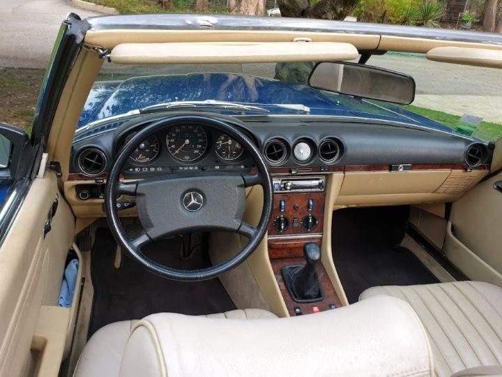Mercedes SL 300 SL (R 107) BLEU ROI - 13