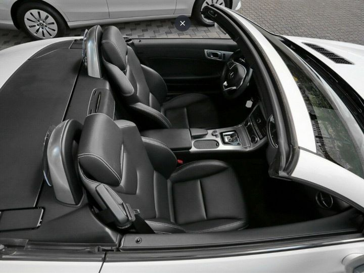 Mercedes SLC 200  Roadster 9G-TRONIC Blanc métal  - 8