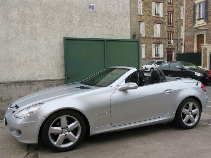 Mercedes SLK 200K BVA GRIS CLAIR Occasion - 5
