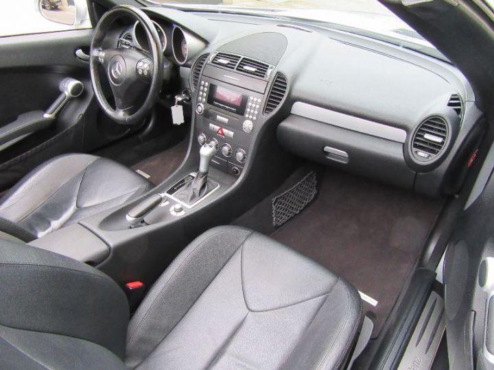 Mercedes SLK 200K BVA GRIS CLAIR Occasion - 6