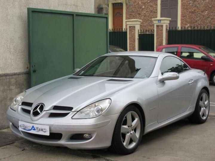 Mercedes SLK 200K BVA GRIS CLAIR Occasion - 8