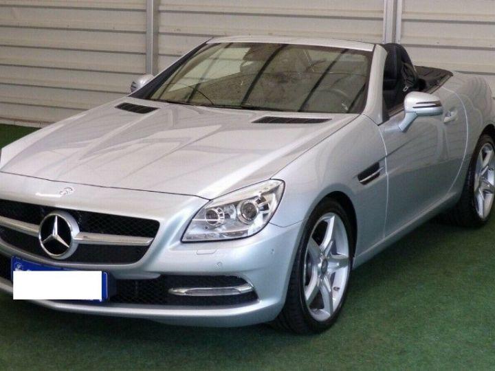Mercedes SLK  250 d 9G-Tronic 204 / 06/2016 gris  métal - 7