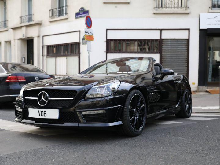Mercedes SLK MERCEEDES SLK 55 AMG V8 422CV /PANO / ECHAPPEMENT SPORT Noir - 1