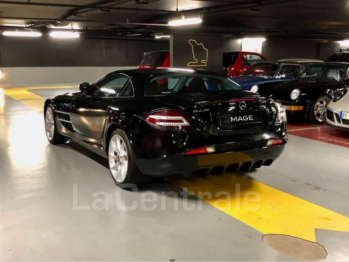 Mercedes SLR MCLAREN 5.4 V8 626 Noir Metal Occasion - 21