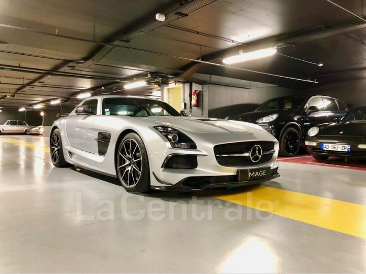 Mercedes SLS AMG COUPE V8 6.3 631 BLACK SERIES Argent Metal Occasion - 2