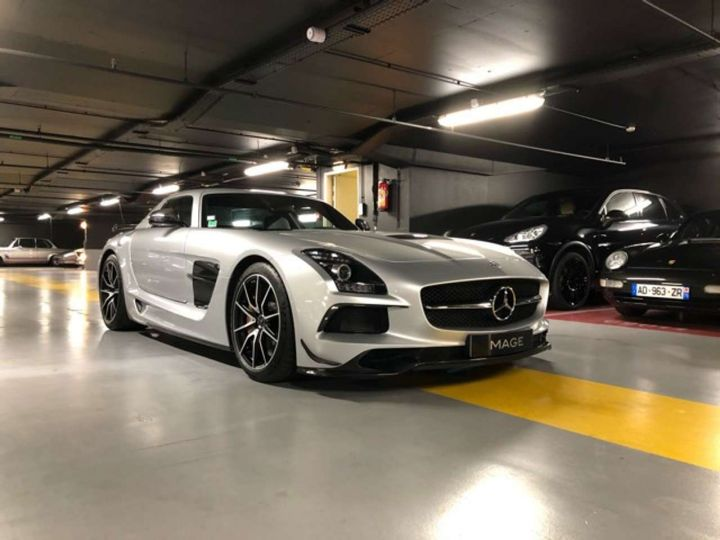 Mercedes SLS BLACK SérieS Gris Occasion - 2
