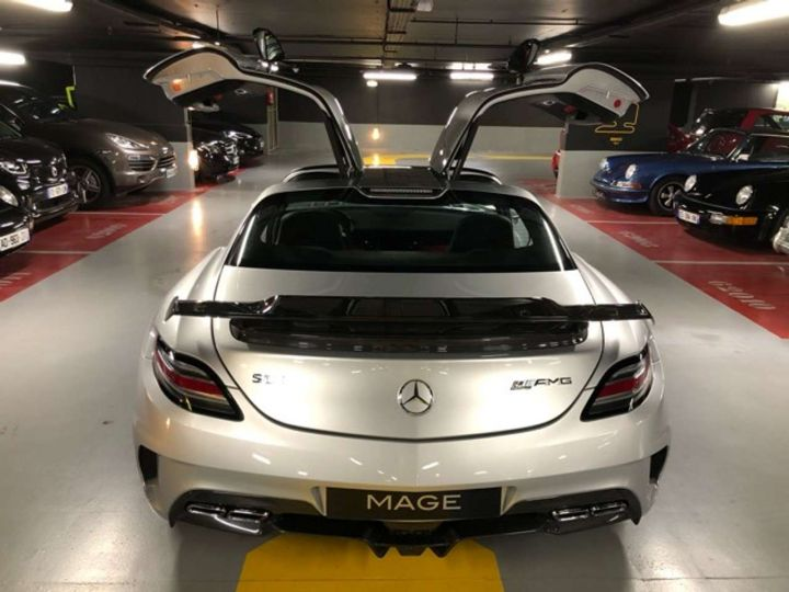 Mercedes SLS BLACK SérieS Gris Occasion - 7