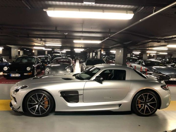 Mercedes SLS BLACK SérieS Gris Occasion - 8